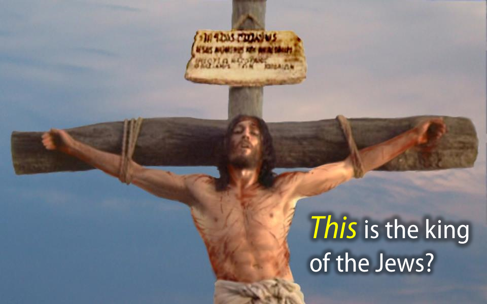 Jesus upon the cross