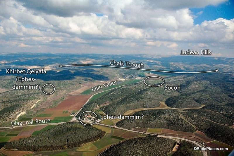Socoh and the Valley of Elah